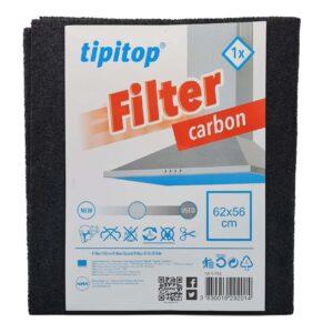 Filter za kuhinjsko napo z OGLJEM dim. 62x56 cm