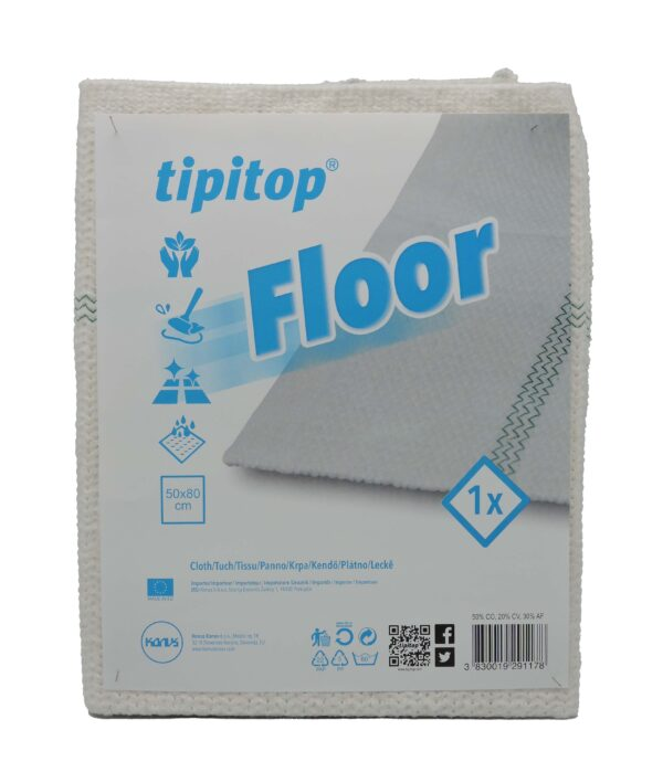 Krpa za tla bela FLOOR 50x80 1/1