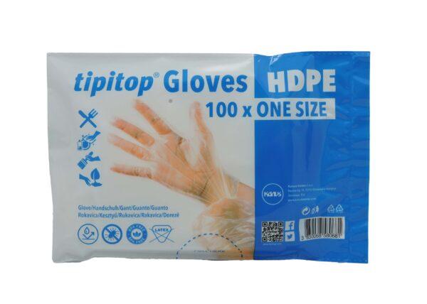 Rokavice HDPE za enkratno uporabo 100x