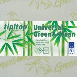 Krpa večnamenska Universal Green&Clean 3x
