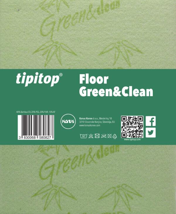 Krpa za tla Floor Green&Clean 2x