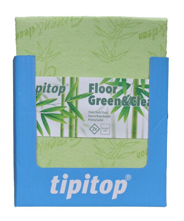 Krpa za krpa Floor Green Clean 2x SRP front