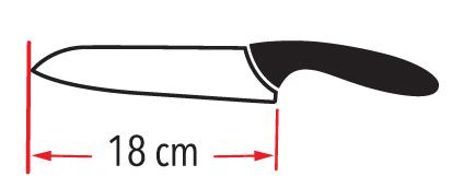 Nož keramični CERMULTI 18