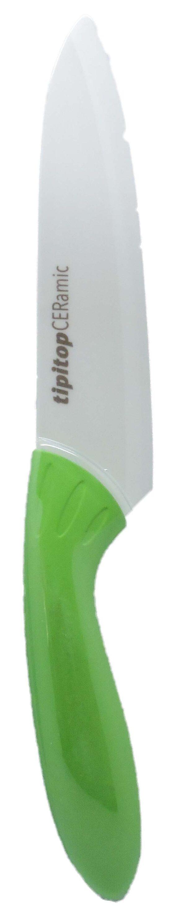 Nož keramični CERMULTI green