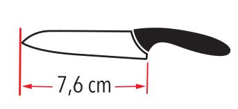 Nož keramični komplet CERSET 10
