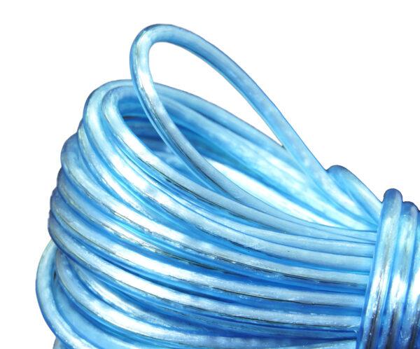 Vrv za perilo z jeklenim polnilom