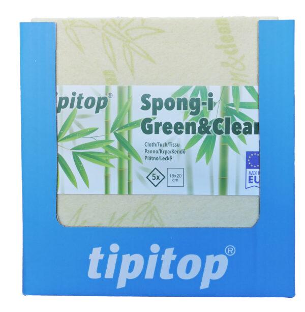Krpa Spongi Green Clean 5x SRP 1