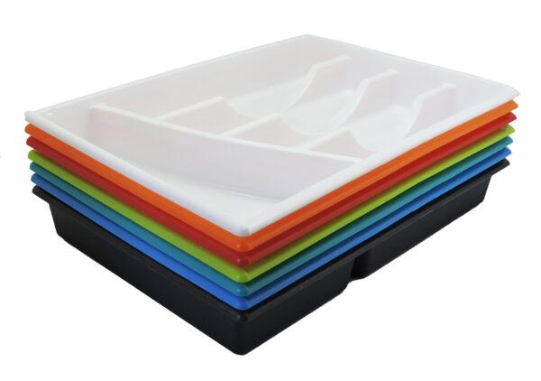 Predalnik za jedilni pribor 5-delni barve