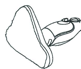 Rezervna krpa čistilec parni PMA H20 Refill 1
