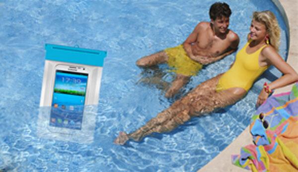 Zaščitna vodotesna vrečka za telefon 7