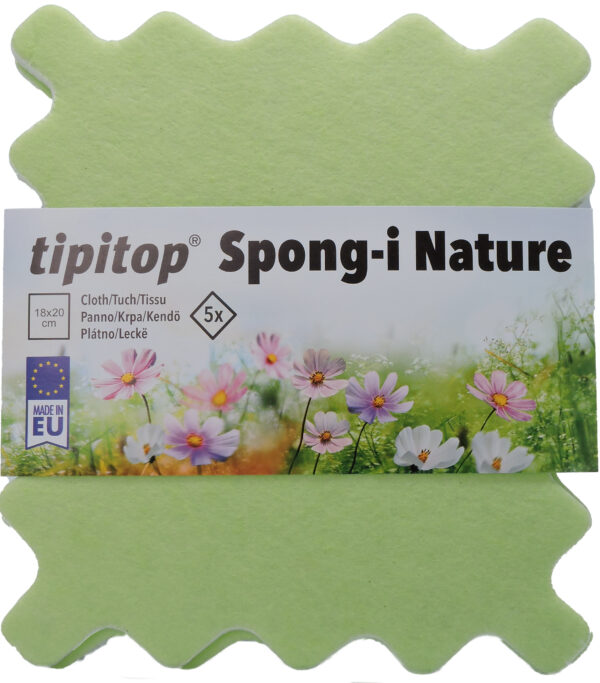 Gobasta krpa Spongi Nature 5x spredaj 10